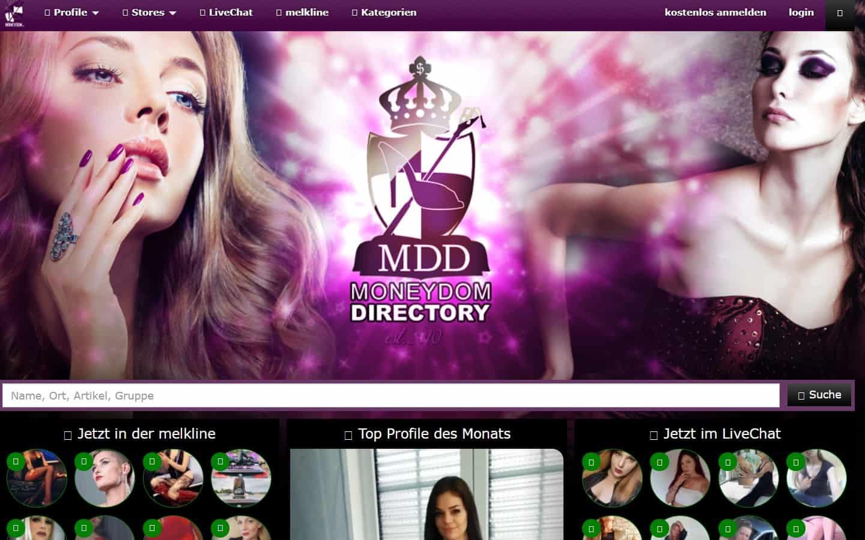 moneydomdirectory.com-Startseite