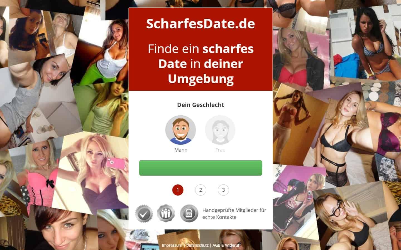scharfesdate.de - Startseite
