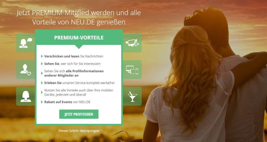 Neu.de - Premium-Vorteile