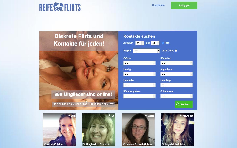 Testbericht: ReifeSexFlirts.com Abzocke