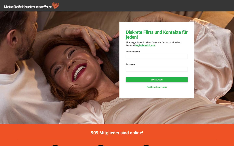 Testbericht: MeineReifeHausfrauenAffaire.com Abzocke