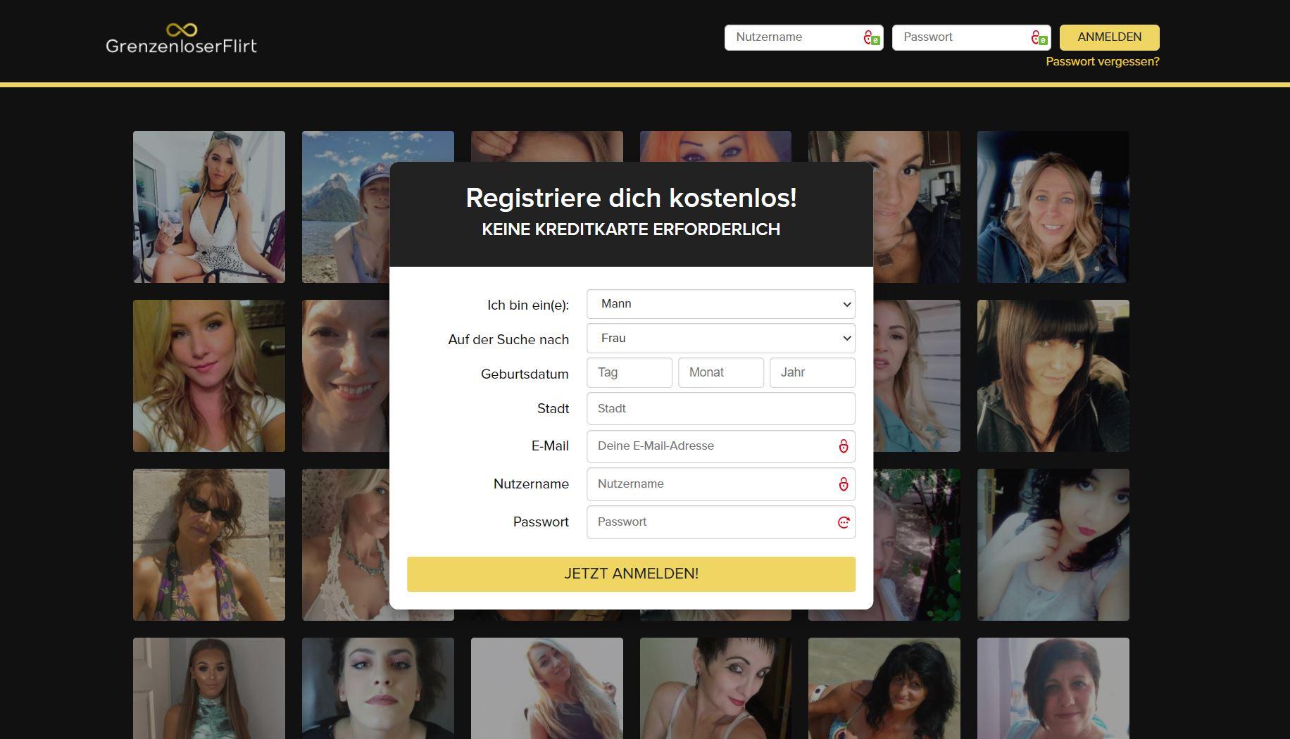 Testbericht - grenzloserflirt.com Abzocke
