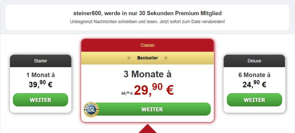 WildeMilf.com - Kosten Abzocke