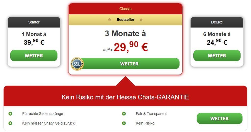 chatanddate.de - Kosten Abzocke