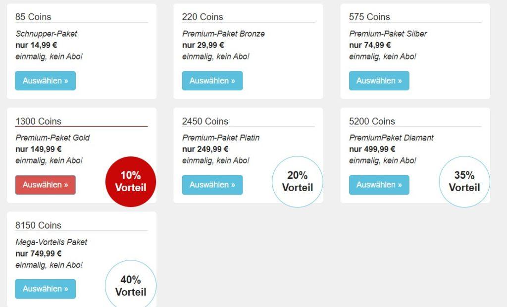 dateyuu.de - Kosten Abzocke