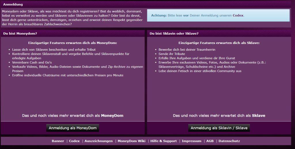 moneydomdirectory.com - Anmeldung 1 Abzocke