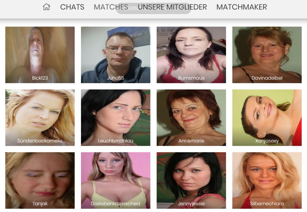 FickSieJetzt.com - Mitgliederbereich