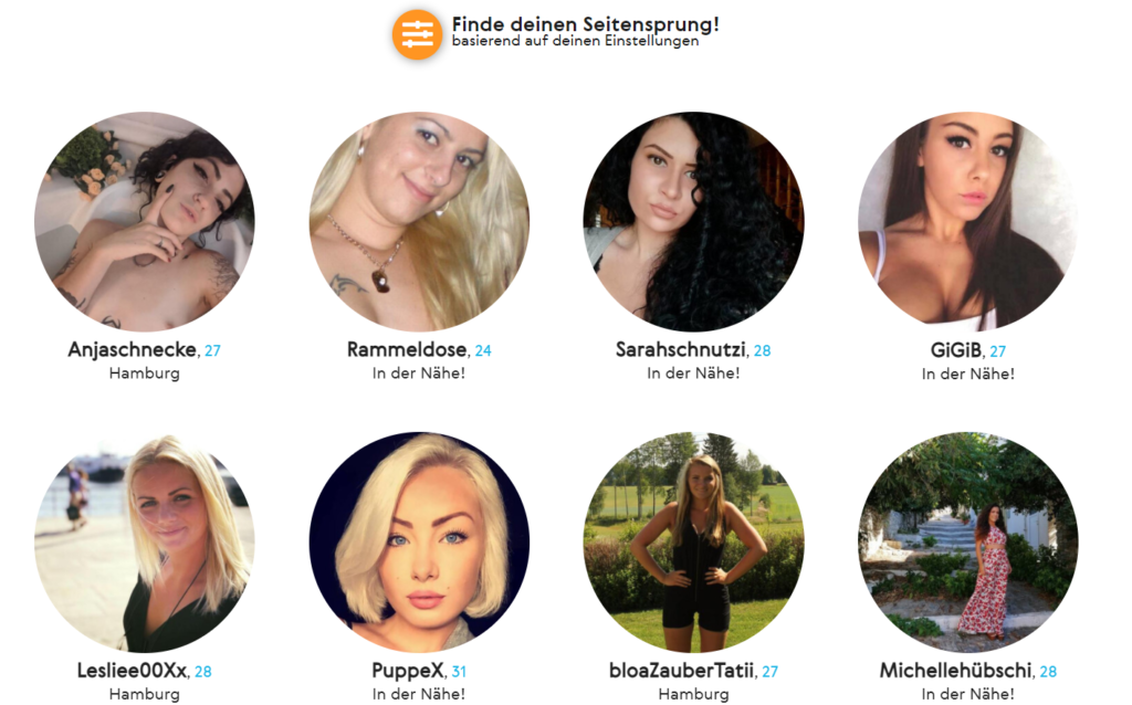 FindeMeineFlamme.com - Mitgliederbereich