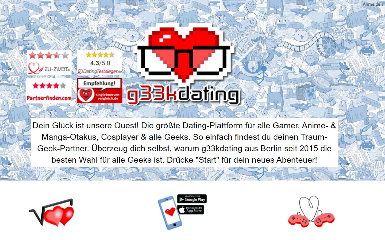G33KDating.com - Startseite