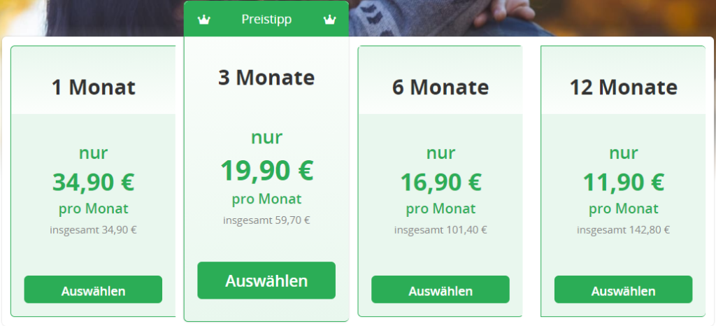 Partner-Express.de - Kosten