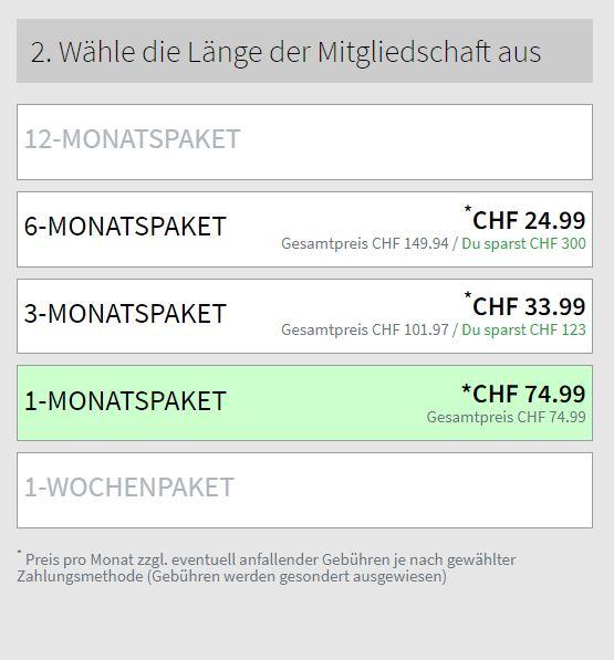 Testbericht - erotiktreffs.ch Kosten