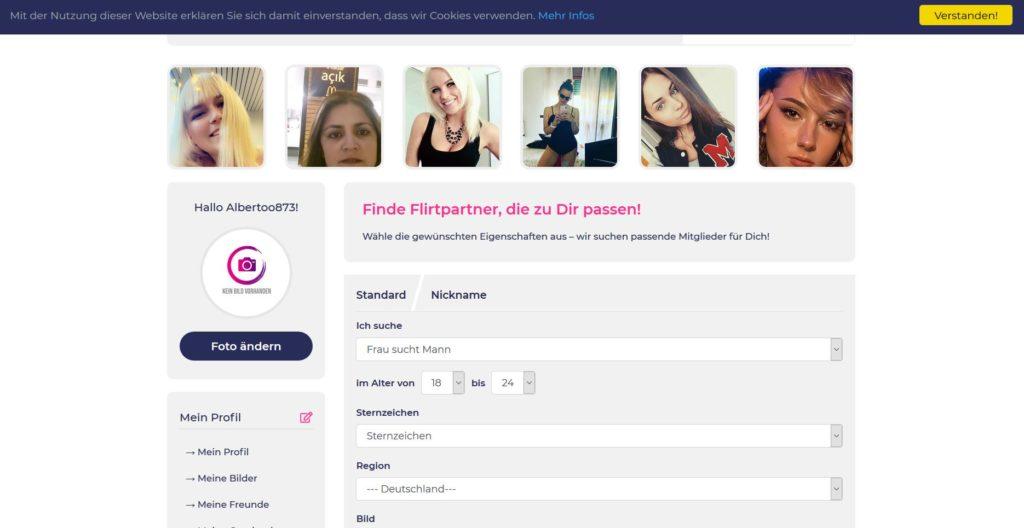 Testbericht - flirtlando.de Mitgliederbereich
