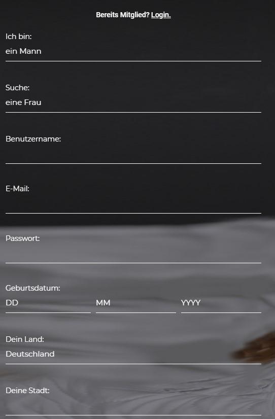 go-milf.com - Registrierung