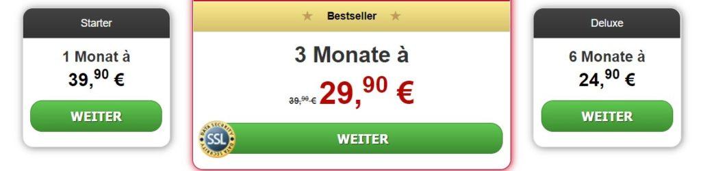 privatsex.ch - Kosten