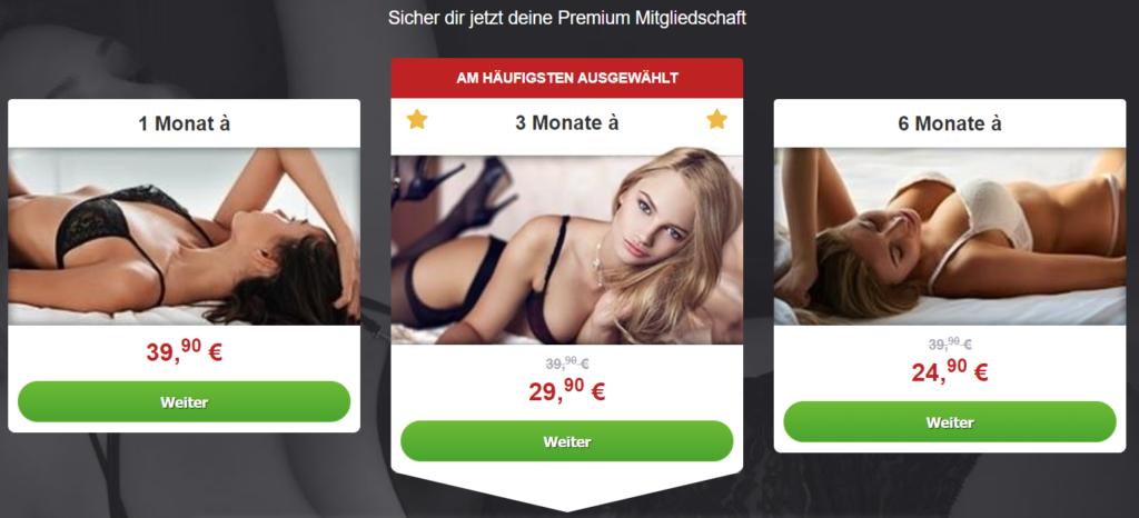 ErotikPur.de - Kosten