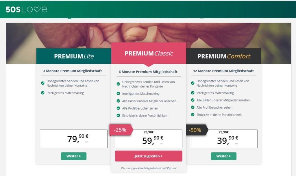 Testbericht - 50slove.de Kosten