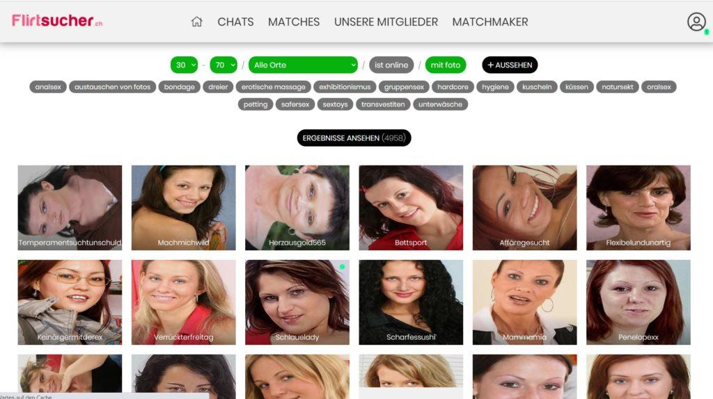 Testbericht - flirtsucher.ch Mitgliederbereich