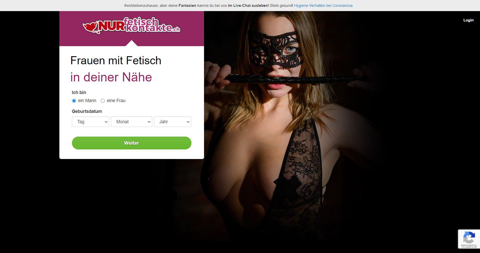 Testbericht - NurFetischKontakte.ch Abzocke