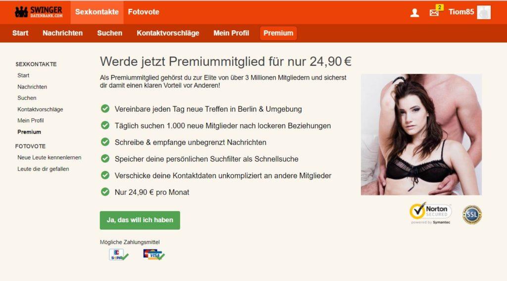 Testbericht - swingerdatenbank.com Kosten