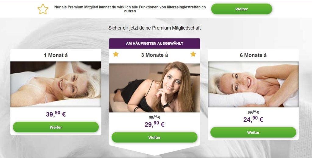 "Testbericht - ""Älteresinglestreffen.ch Kosten"
