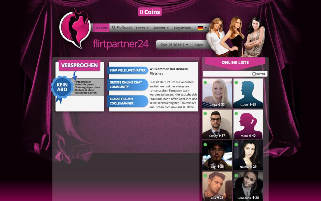 Testbericht FlirtPartner24.com Abzocke