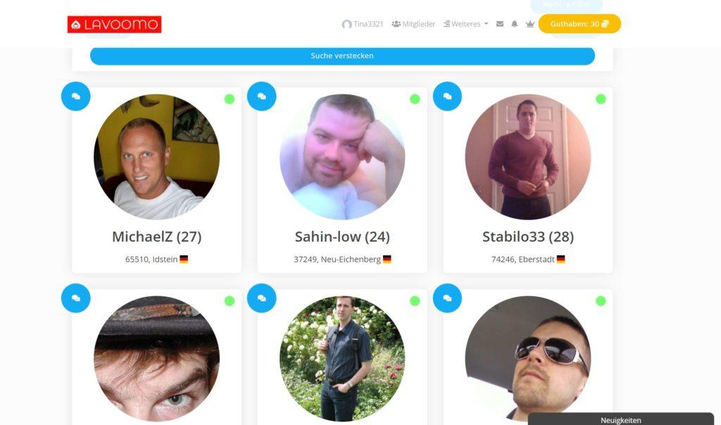 Testbericht Lavoomo.de Mitgliederbereich