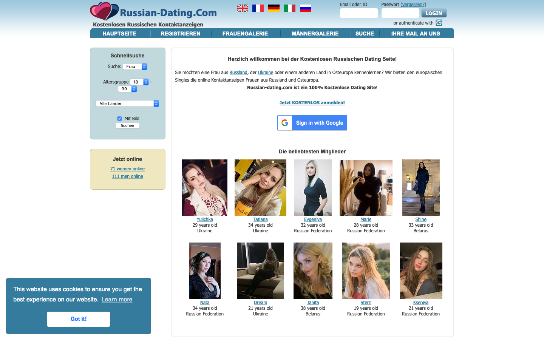 Testbericht Russian-Dating.com Abzocke
