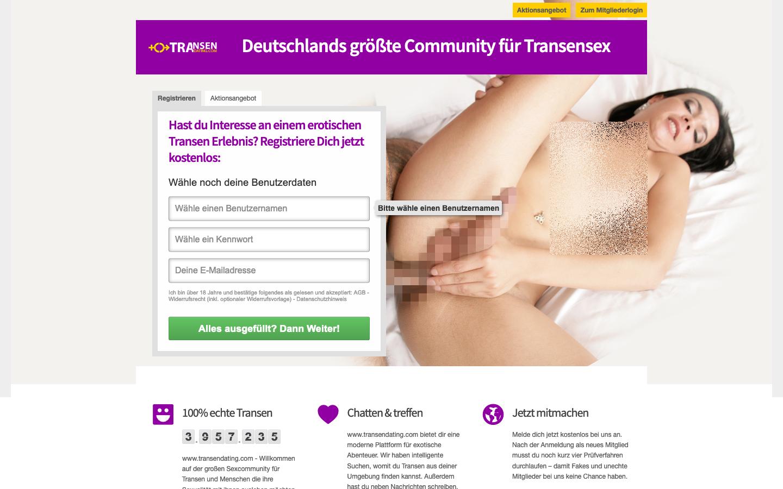 Testbericht TransenDating.com Abzocke
