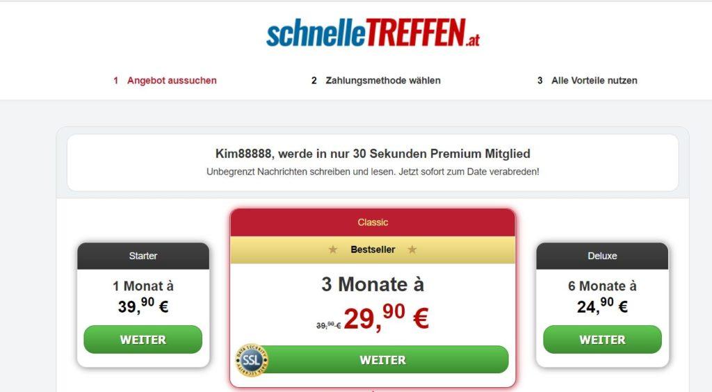 estbericht - SchnelleTreffen.at Kosten